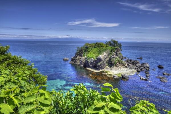初夏の飛島