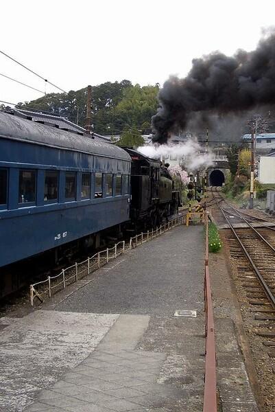 大井川鉄道−下泉下車