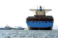 世界最大のコンテナ船②
