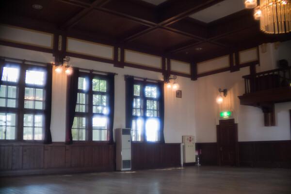 旧松本高等学校講堂ホール