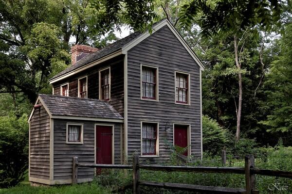 アメリカの古い家