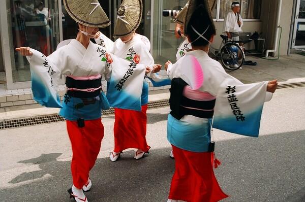 女踊り@阿波踊り