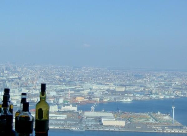 ランドマークタワーからの風景