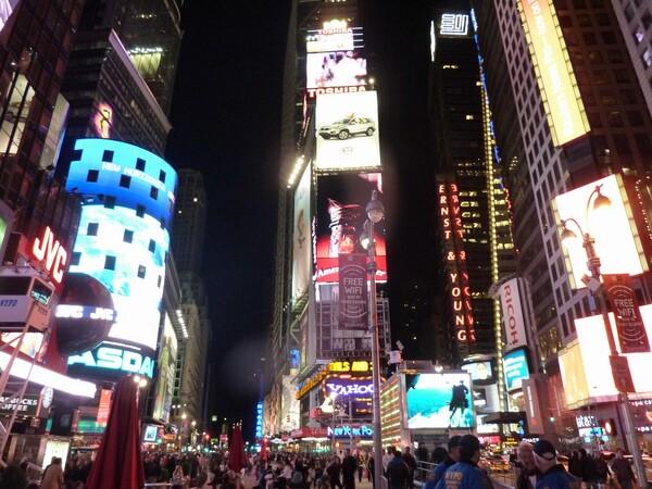 ニューヨーク?