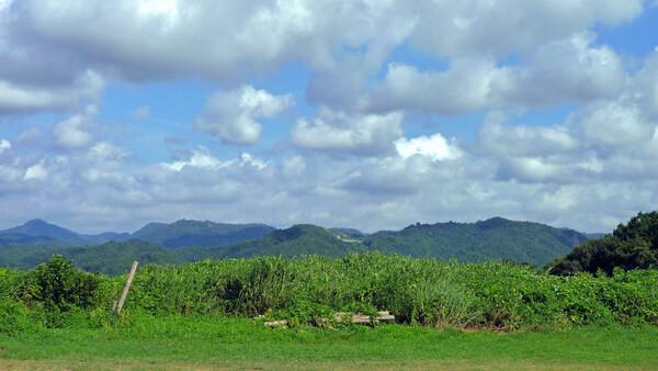 【空】と山と緑と