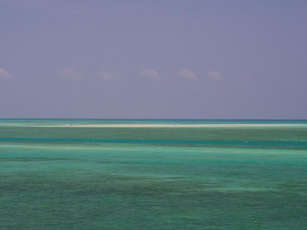 宮古島の浅瀬