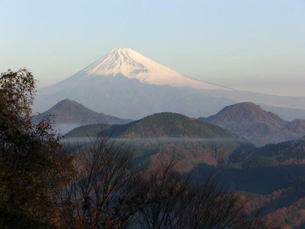 今朝の富士山091223