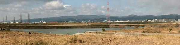 淀川はとても長い