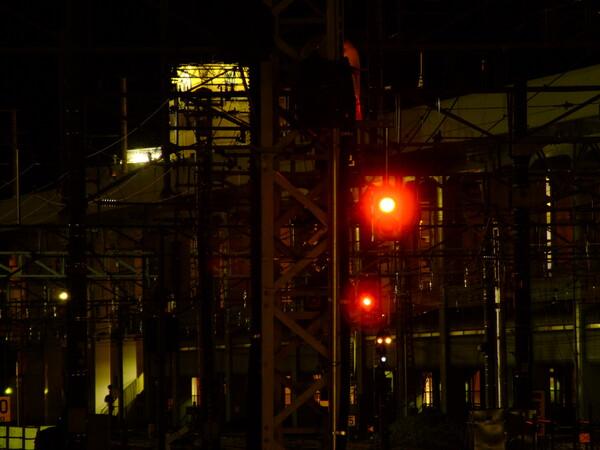 「光」郷愁の赤信号