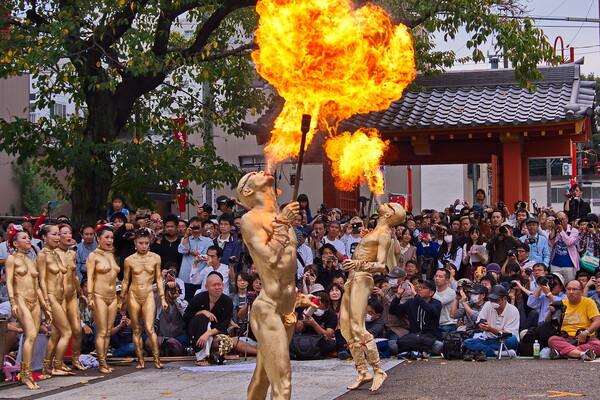 【秋色】大須大道町人祭 お④まい