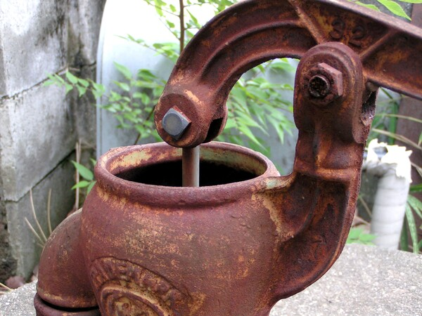 【鉄】 水汲み