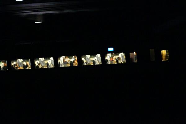 通勤列車 試し撮り