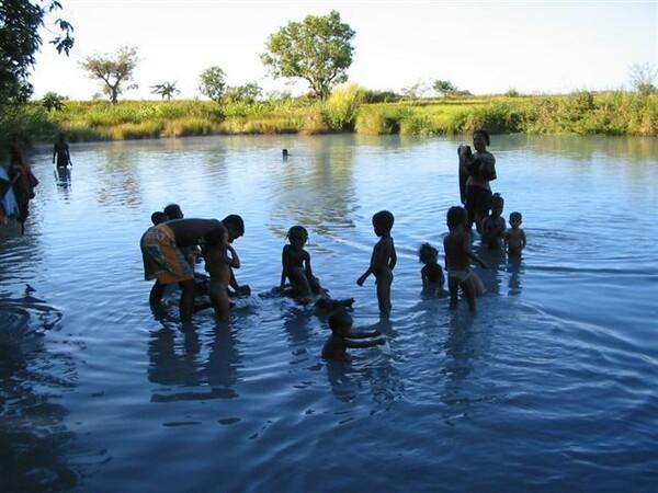 マダガスカルの露天風呂