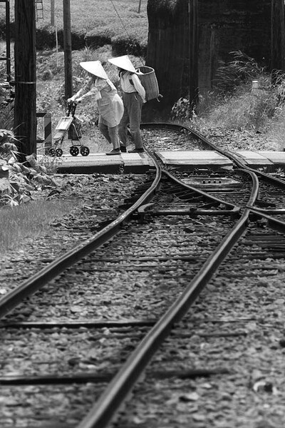 「M]大鉄沿線にて
