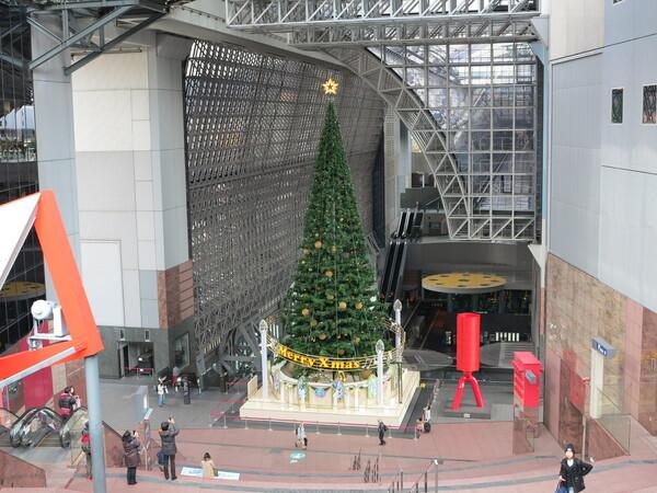 京都駅のツリー