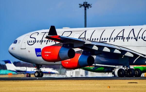 SAS A340 スタアラさん