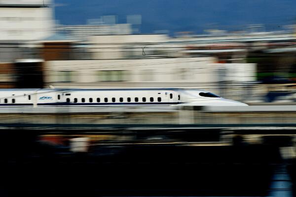 新幹線 低速撮影