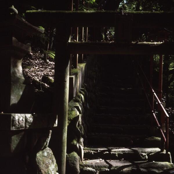 湯河原、不動の滝