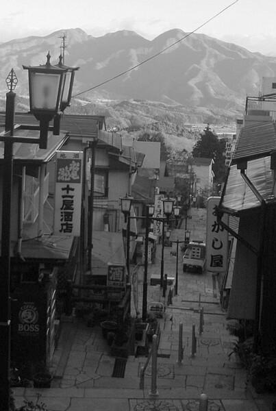 【道】朝の伊香保温泉
