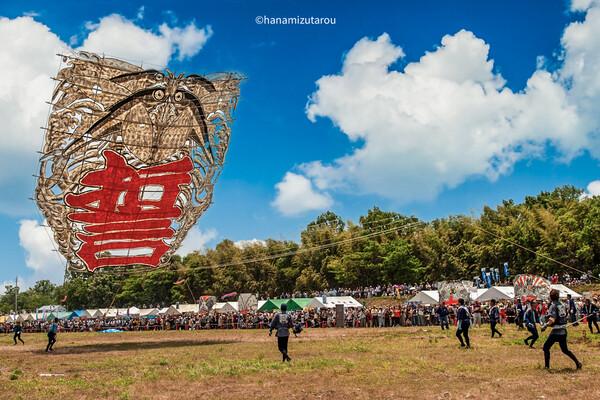 【情景】東近江大凧祭り