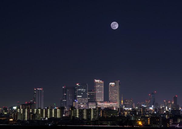 【故郷の月】見て・・