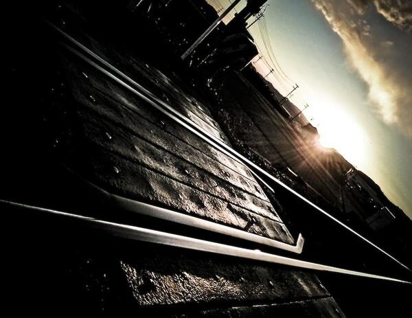 天浜線夕景