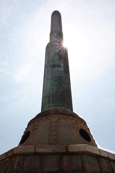二百三高地の慰霊塔