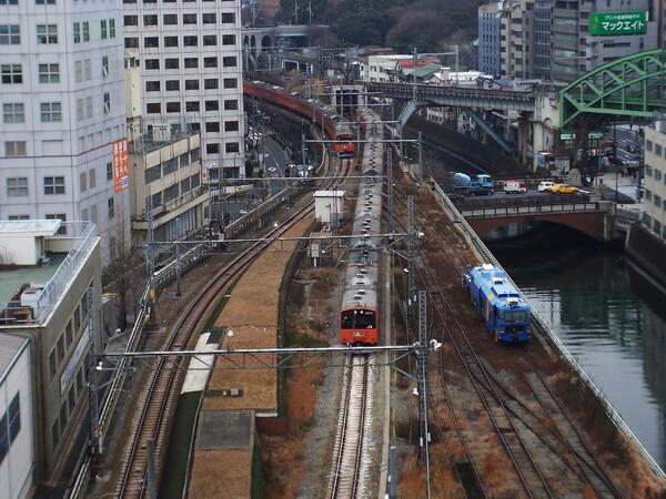 【写楽】鉄道模型ジオラマのように見えました