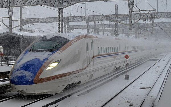 北陸新幹線新型車両E7系
