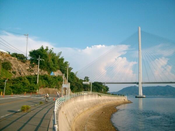 多々良大橋とサイクリング