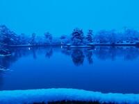雪の朝。(佐賀県)Ⅱ
