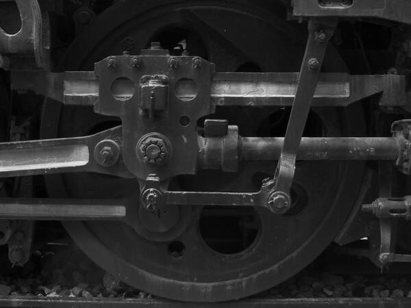 【金】退役した蒸気機関車