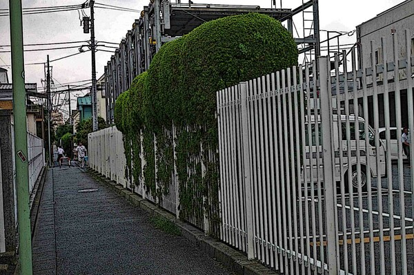 ㍵ 駅への近道 ㍵