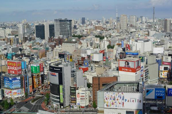 新宿からの風景