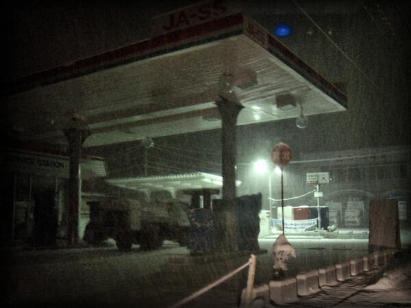 ガソリンスタンド休止