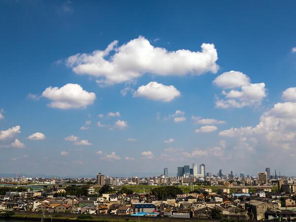 9月10日午後一番の雲