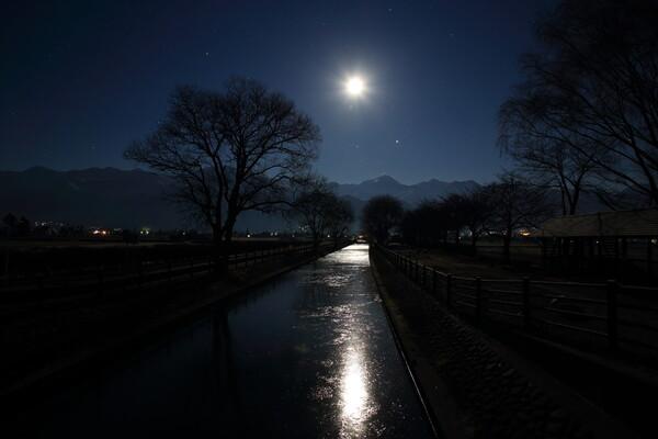 月の通り道
