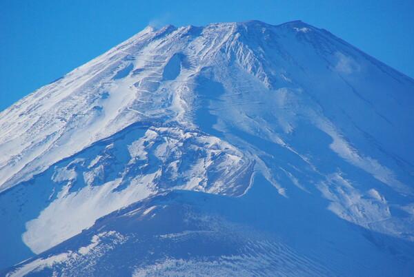 霊峰富士の頂