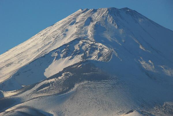 霊峰富士の上半身