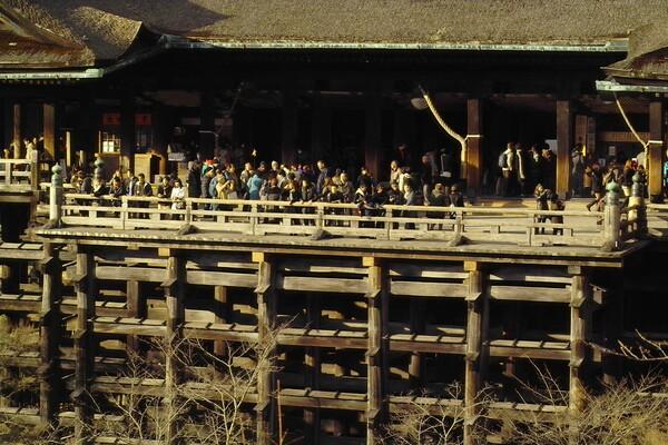 京、清水寺舞台
