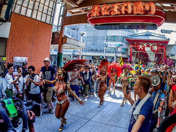 大須夏祭り サンバパレード