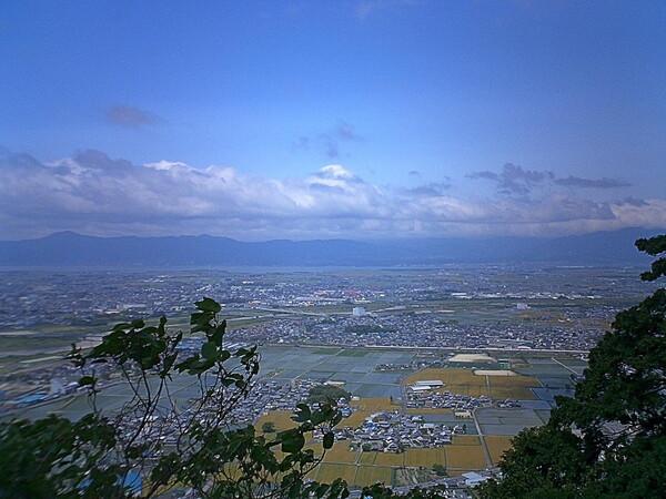近江富士から見える景色