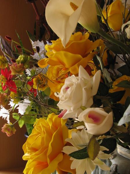 光触媒の花