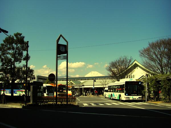 (わびさび)富士の山