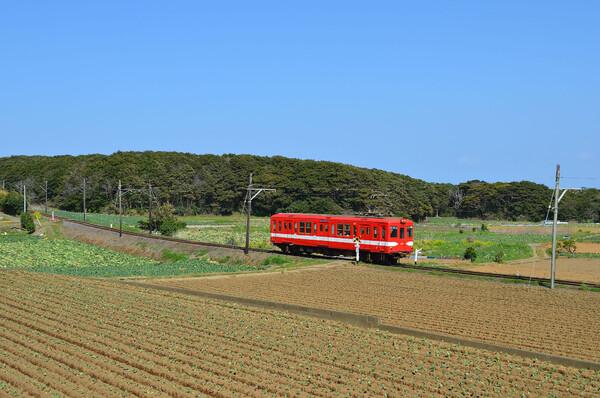 早春の銚子電鉄