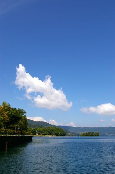 洞爺湖・・・