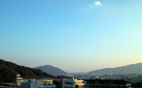 三田尻港眺望