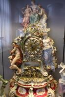 マイセン陶磁器時計