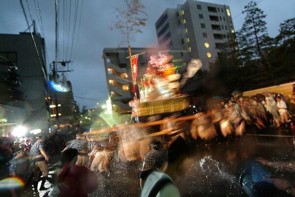 【伝】雨・風・力水
