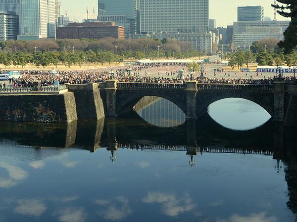 二重橋の風景